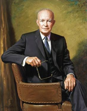 President Dwight D. Eisenhower by James Anthony Wills