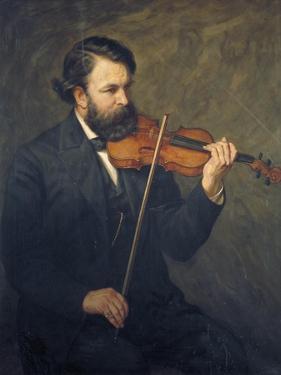 Doctor Joseph Joachim, 1876 by James Archer