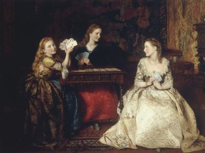 Hearts are Trumps, 1866 by James Archer