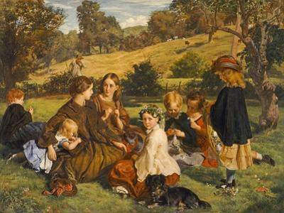 Summertime, Gloucestershire, Exh.1860 by James Archer