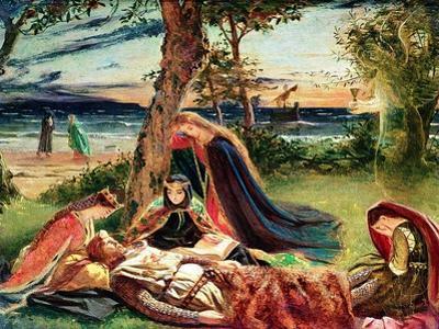 The Death of Arthur, C.1861 by James Archer