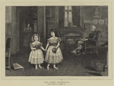 The Little Bridesmaids by James Archer