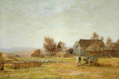 A Sheep Farm on the South Downs, 1906