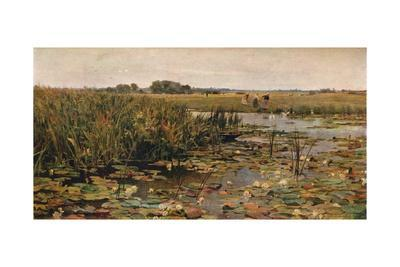 'Water Lilies', c1870