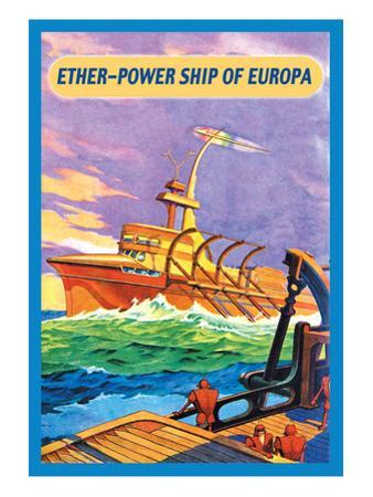 Ether-Powership of Europa by James B. Settles
