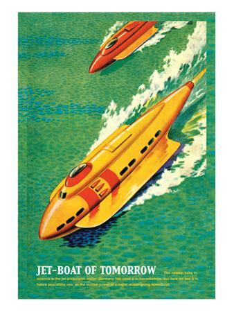 Jet-Boat of Tomorrow by James B. Settles