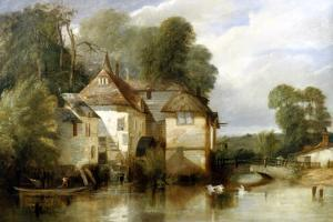 Arundel Mill, Sussex by James Baker Pyne