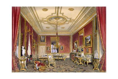 The Queen's private sitting room, Windsor Castle, 1838