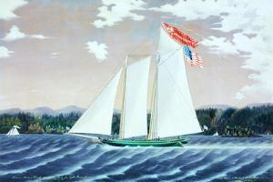 Schooner Robert Knapp by James Bard
