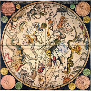 Celestial Hemisphere, 1790 by James Barlow