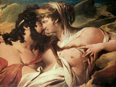 Jupiter and Juno on Mount Ida by James Barry