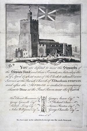 Church of St Dunstan and All Saints, Stepney, London, 1746