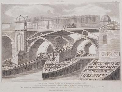London Bridge, London, 1830