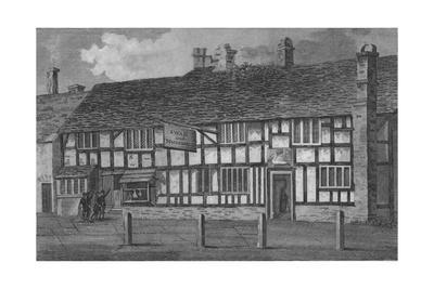 A view of the house in which William Shakespeare was born, 1806
