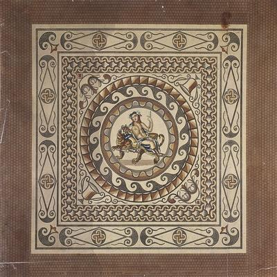 Roman Tessellated Pavement, Discovered in Leadenhall Street, London, 1804