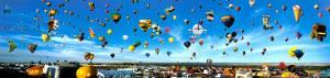 Albuquerque, New Mexico Balloon Festival by James Blakeway