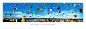 Albuquerque, New Mexico Balloon Festival by James Blakeway