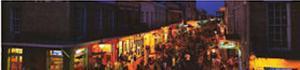 Bourbon Street, New Orleans, Louisiana by James Blakeway