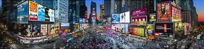 New York, New York - Times Square by James Blakeway