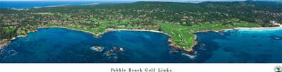 Pebble Beach Golf Links by James Blakeway