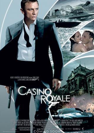 James Bond (Casino Royale One-Sheet) Movie Poster Print