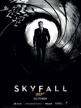 James Bond (Skyfall Teaser) Movie Poster Print