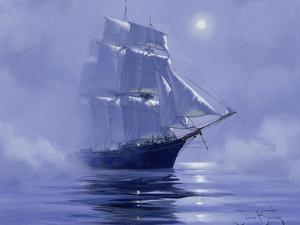 Solent'- Out of the Nightmist, 2009 by James Brereton
