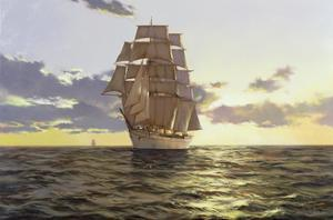 The Stately Ship, 2009 by James Brereton