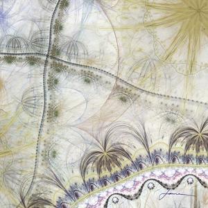 Bedouin Map II by James Burghardt