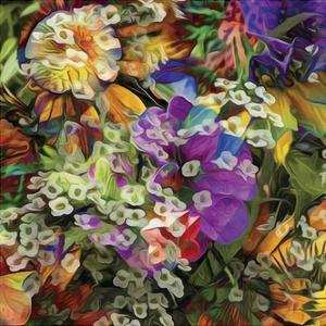 Embellished Eden Tile II by James Burghardt