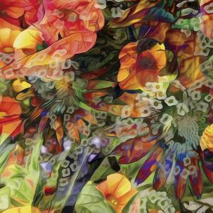Embellished Eden Tile III by James Burghardt