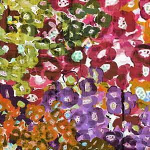 Floral Barrage II by James Burghardt