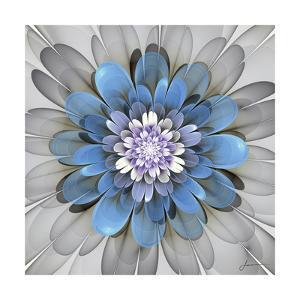 Fractal Blooms III by James Burghardt
