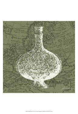 Map Bottles IV by James Burghardt