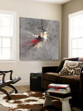Paint Swirl I by James Burghardt