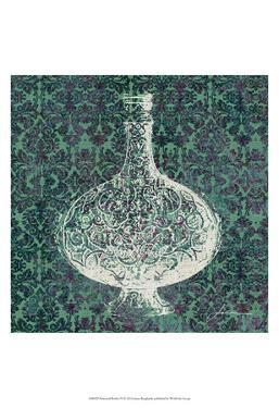 Patterned Bottles IV by James Burghardt