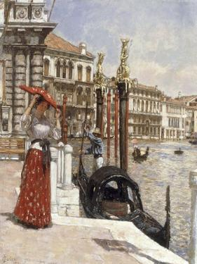 The Heat of the Day, Venice, 1892 by James Charles