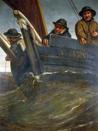 Deep Sea Fishing, 1864