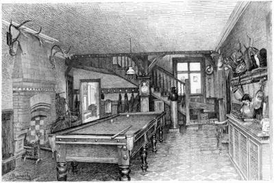 The Hall at Silverbeck, C1880-1882