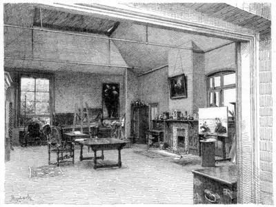The Studio, East, C1880-1882