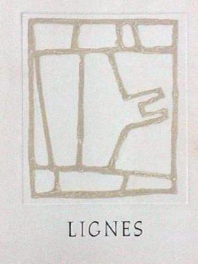 Lignes - Couverture by James Coignard