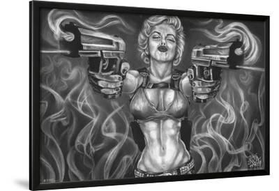 JDH- Marilyn Double Guns by James Danger Harvey