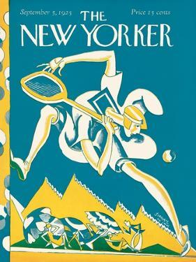 The New Yorker Cover - September 5, 1925 by James Daugherty