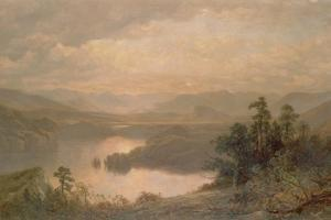 Lake Placid and the Adirondack Mountains from Whiteface, 1878 by James David Smillie