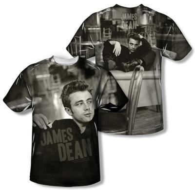 James Dean - Have A Seat (Front/Back Print)