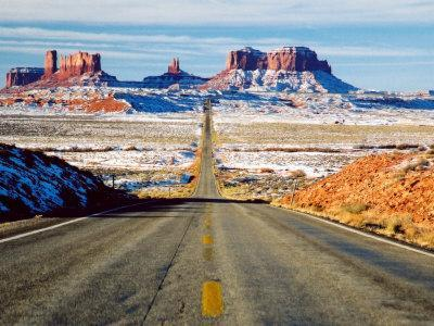 Looking South Toward Monument Valley, Hwy 163