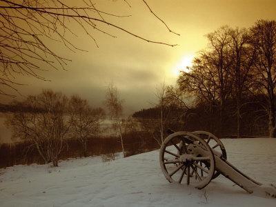 Sweden, Skokloster Castle, Cannon