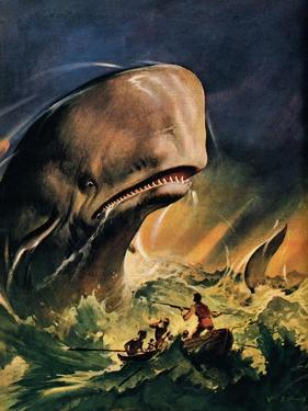 Moby Dick by James Edwin Mcconnell