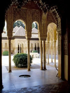 Alhambra, Unesco World Heritage Site, Granada, Andalucia (Andalusia), Spain by James Emmerson