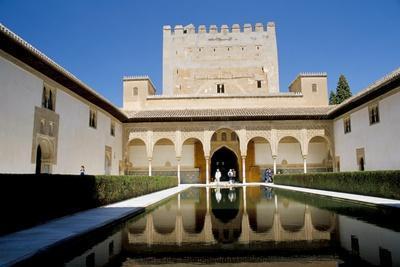 Alhambra, Unesco World Heritage Site, Granada, Andalucia (Andalusia), Spain